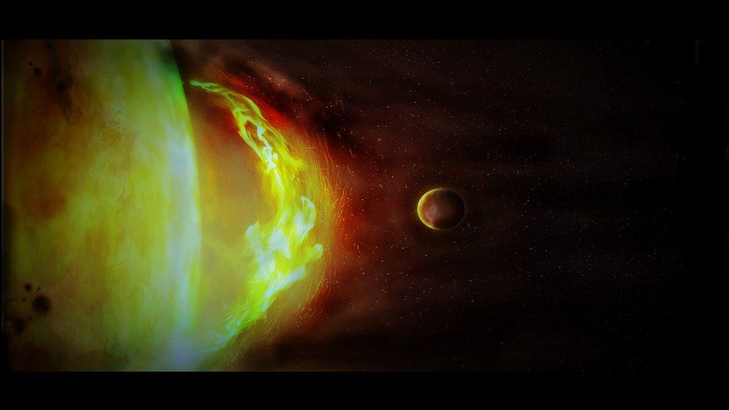 """Una tormenta solar de protones amenaza la Tierra, así como, en paralelo, una brutal ciclogénesis explosiva arrasa Europa en """"La noche del fin de los tiempos"""""""